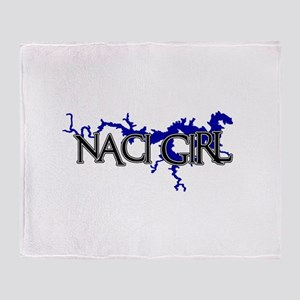 NACI GIRL [2] Throw Blanket